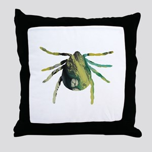 Tick Throw Pillow