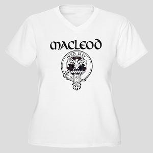 MacLeod Women's Plus Size V-Neck T-Shirt