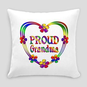 Proud Grandma Everyday Pillow
