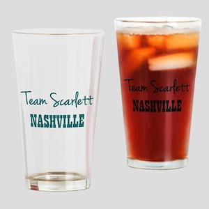 TEAM SCARLETT Drinking Glass