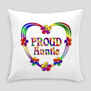Proud Auntie Everyday Pillow