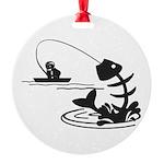 Fish Till I Die Ornament
