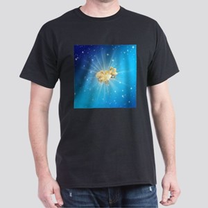Group of small cute ducks on a blue sky wi T-Shirt