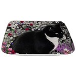 Freckles Tux Cat Flowers II Bathmat