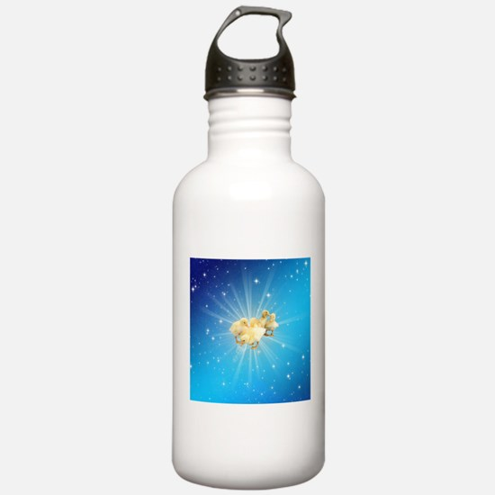 Group of small cute du Water Bottle