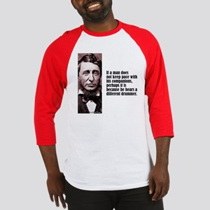 "Thoreau ""Different Drummer"" Baseball Jersey"