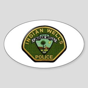 Indian Wells Police Sticker