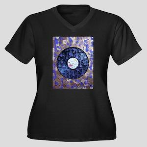 Purple Rain Art Plus Size T-Shirt
