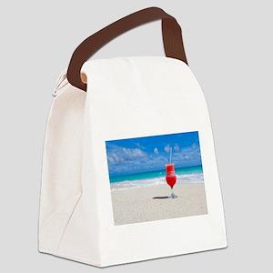 daiquiri paradise beach Canvas Lunch Bag