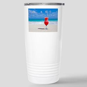 daiquiri paradise beach Stainless Steel Travel Mug