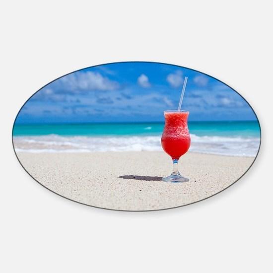 daiquiri paradise beach Decal