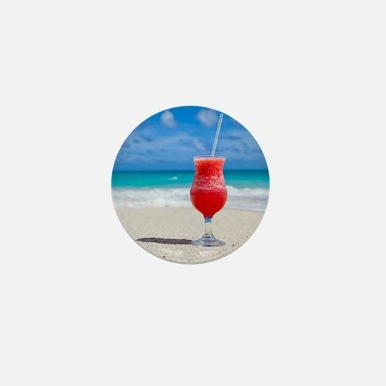 daiquiri paradise beach Mini Button