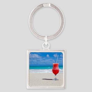 daiquiri paradise beach Keychains