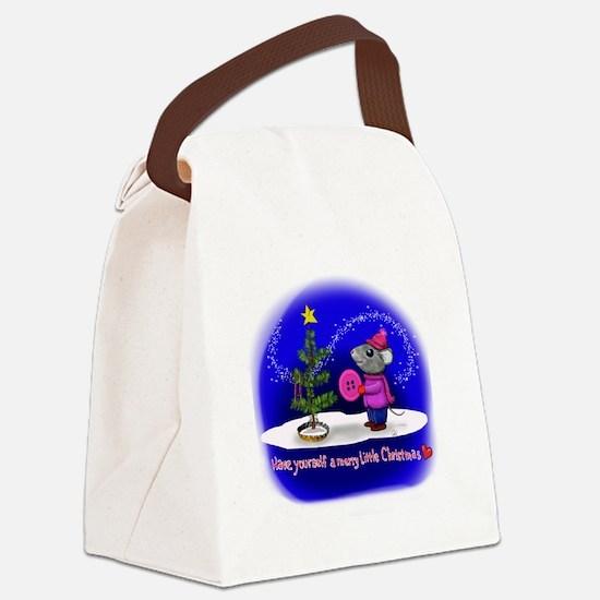 Unique Sincere Canvas Lunch Bag