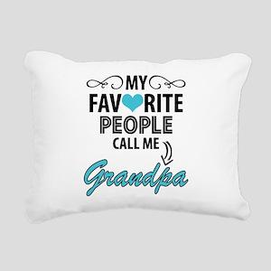 My Favorite People Call Me Grandpa Rectangular Can