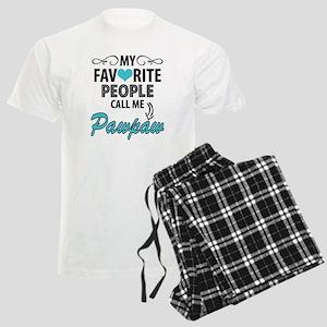 My Favorite People Call Me Pawpaw Pajamas