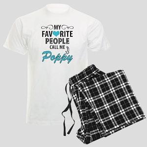 My Favorite People Call Me Poppy Pajamas