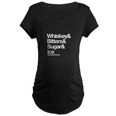 Old Fashioned Bartender Maternity T-Shirt