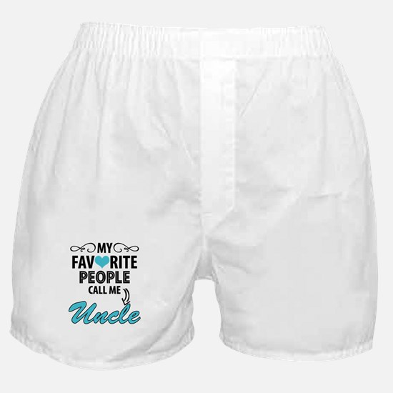 My Favorite People Call Me Uncle Boxer Shorts