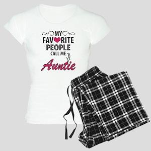 My Favorite People Call Me Auntie Pajamas