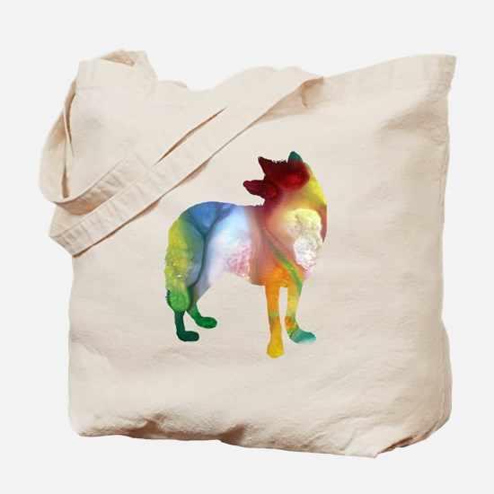 Cool Mens wolf Tote Bag