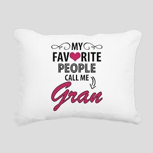 My Favorite People Call Me Gran Rectangular Canvas