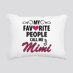 My Favorite People Call Me Mimi Rectangular Canvas