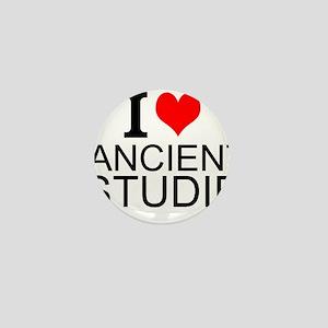 I Love Ancient Studies Mini Button