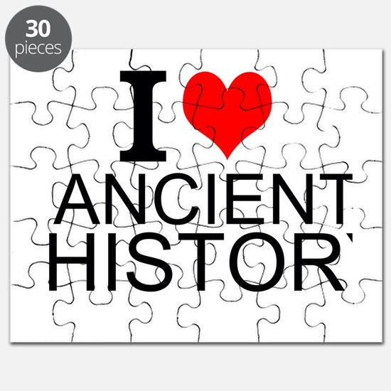 I Love Ancient History Puzzle