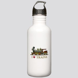 I Love Trains Stainless Water Bottle 1.0L