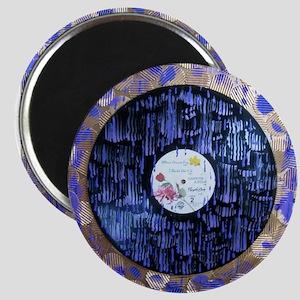 Purple Rain Art Magnets