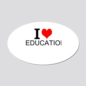 I Love Education Wall Decal