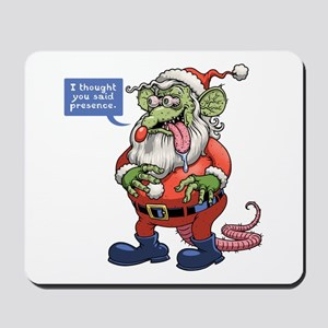 Rat Claus Mousepad