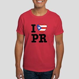 I Love PR Dark T-Shirt
