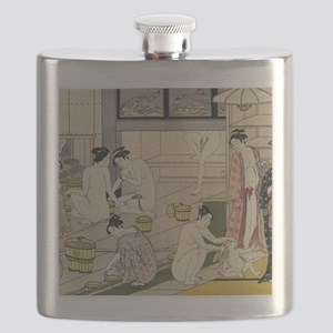 asian geisha bathhouse Flask