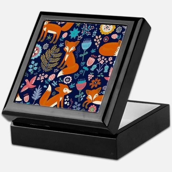 Unique Colorful Keepsake Box