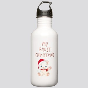 MY 1ST CHRISTMAS Water Bottle