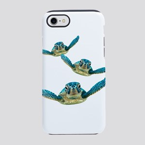 Baby Sea Turtles Swimming iPhone 8/7 Tough Case