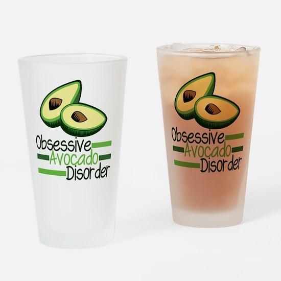 Cute Avocado Drinking Glass