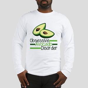 Cute Avocado Long Sleeve T-Shirt