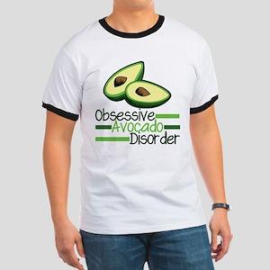 Cute Avocado Ringer T