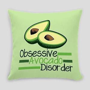 Cute Avocado Everyday Pillow