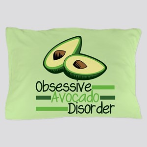 Cute Avocado Pillow Case