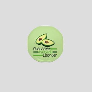 Cute Avocado Mini Button