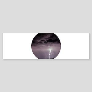 Lightning over Arches National Park Bumper Sticker