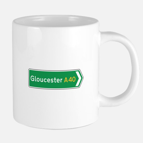 Gloucester Roadmarker, UK Mugs