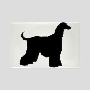 Afghan Hound Dog Rectangle Magnet