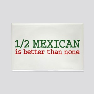 Half Mexican Rectangle Magnet