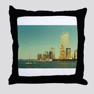 World Trade Center Throw Pillow