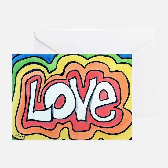 Unique 1960s Greeting Card